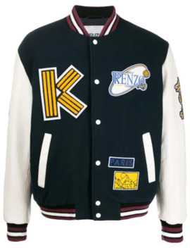 Tiger Mountain Varsity Jacket by Kenzo