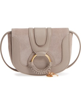 Mini Hana Leather & Suede Crossbody Bag by See By ChloÉ
