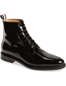 Blucher Lace Up Bootie by Thom Browne