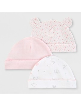 Baby Girls' 3pk Hats   Just One You® Made By Carter's 0 3 M by Just One You Made By Carter's