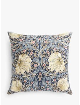 Morris & Co. Pimpernel Cushion, Indigo by Morris & Co.