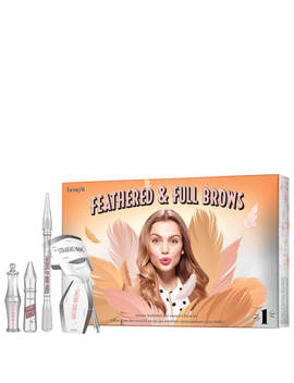 Benefit Feathered And Full Brow Kit   01 Light by Benefit