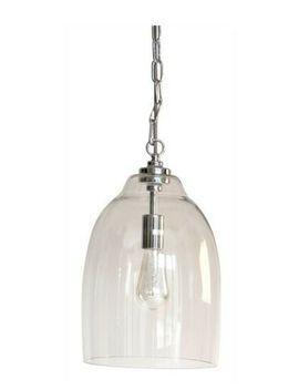 Neptune Shaftesbury Glass/Chrome Ceiling Pendant Brand New by Ebay Seller