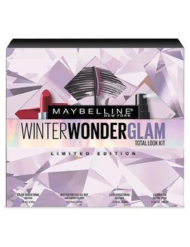Maybelline Winter Wonder Glam Total Look Kit ($38.96 Value)1.0ea by Walgreens