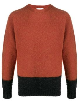 Two Tone Knitted Jumper by Ymc