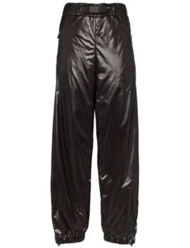 Side Stripe Nylon Trousers by Moncler Grenoble