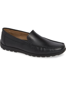 Dip Moc Toe Driving Loafer by Ecco