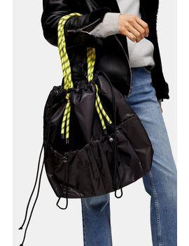 Marble Black Bunge Tote Bag by Topshop