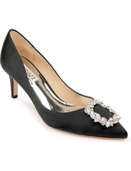 Badgley Mischka Carrie Crystal Embellished Pump by Badgley Mischka Collection