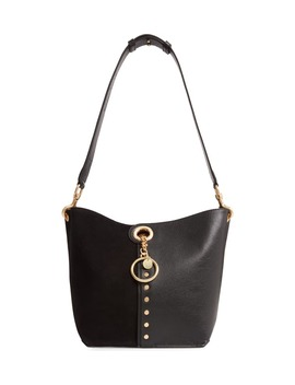 Gaia Leather Shoulder Bag by See By ChloÉ