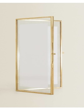 Double Gold Frame by Zara Home