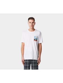 High Times Tee   White by I Love Ugly