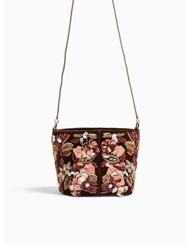 Embellished Mini Bucket Cross Body Bag by Miss Selfridge