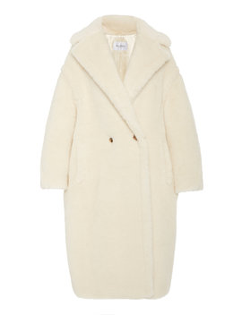 Tedgirl Oversized Alpaca And Wool Blend Coat by Max Mara