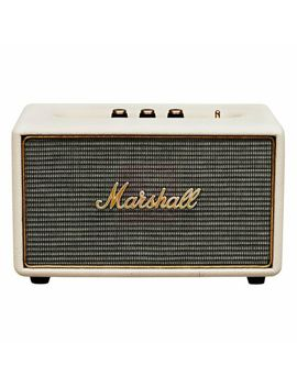 Marshall Acton Wireless Bluetooth Speaker System   Cream by Ebay Seller