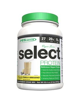 Select Vegan Protein   Vanilla Indulgence (27 Servings) by Pe Science