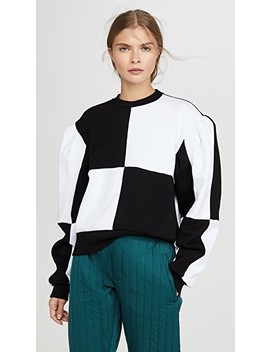 Colorblock Pullover by Msgm