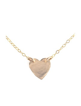 Heart Pendant 14k Gold Fill Necklace by Teressa Lane Jewelry