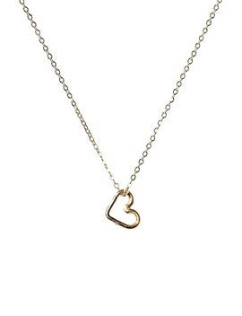 Mini Heart Necklace by Nashelle