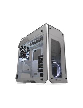 Thermaltake View 71 Tempered Glass Snow Edition 4 Sided Tempered Glass E Atx Vertical Gpu Modular Gaming Full Tower Computer Case Ca 1 I7 00 F6 Wn 00 by Thermaltake