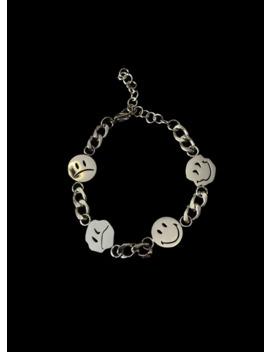 Silver Bipolar Chain Bracelet by Vintage  ×  Jewelry  ×  Yordy  ×
