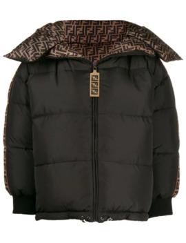 Ff Logo Puffer Jacket by Fendi