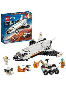 Lego City Mars Research Shuttle Playset   60226924/4087 by Argos
