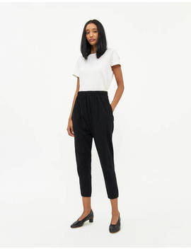 Panneled Slouch Jersey Pant by Bassike Bassike