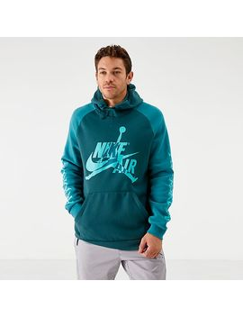 Men's Jordan Mashup Jumpman Classics Fleece Hoodie by Nike