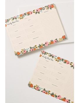 Rifle Paper Co. Meal Planner by Rifle Paper Co.