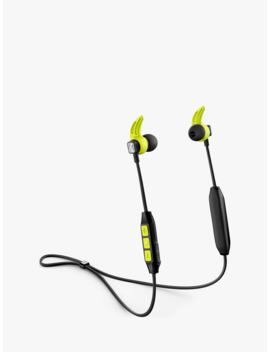 Sennheiser Cx Sport Wireless Bluetooth Splash Resistant Sports In Ear Headphones With Mic/Remote, Black by Sennheiser