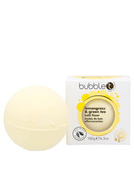Bubble T Bath Fizzer   Lemongrass & Green Tea 180g by Bubble T