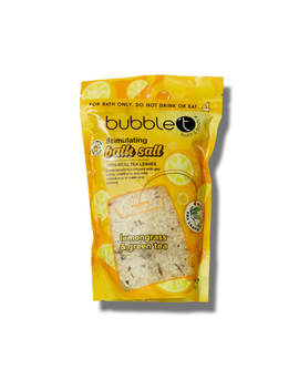 Bubble T Bath Salts Lemongrass & Green Tea 500g by Bubble T
