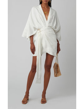 Zahara Linen Wrap Dress by Significant Other