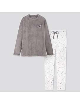 Disney Holiday Fleece Set by Uniqlo