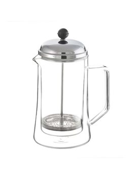 Stanford Double Wall Glass French Press by Grosche