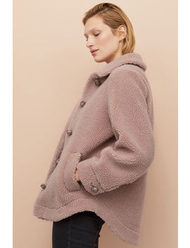 Plush Jacket With Collar by H&M