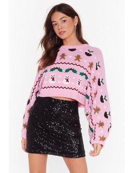 There's Snow One Like Me Knit Holiday Jumper by Nasty Gal