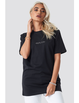 Replica Oversized Tee Black by Na Kd
