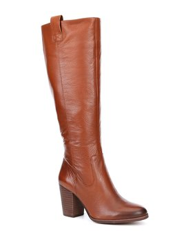 Opu Lence Leather Tall Block Heel Boots by Gb