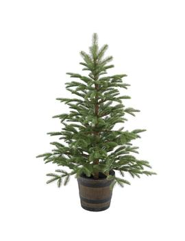 4 Ft. Norwegian Spruce Entrance Artificial Christmas Tree With Clear Lights by National Tree Company