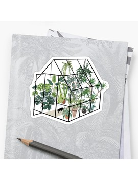 Greenhouse With Plants Sticker by Anyuka