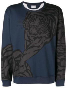 Tiger Print Sweatshirt by Valentino