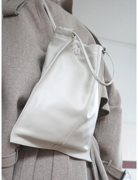 Mail Backpack   Concrete White by Lemels