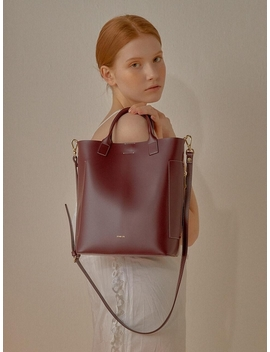 Stand Tote Burgundy by Stand Oil