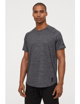 Sportshirt With Short Sleeve by H&M