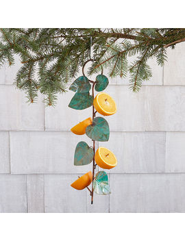 Birdie Fruit Feeder by Catherine Murphy
