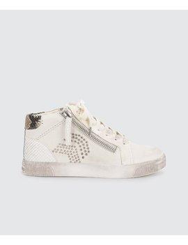 Zonya Sneakers In Whitezonya Sneakers In White by Dolce Vita