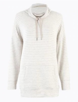Flexifit™ Striped Lounge Top by Marks & Spencer