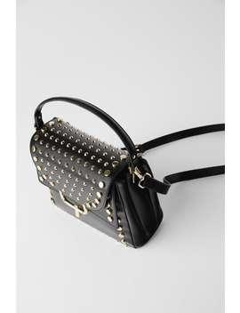 Studded Crossbody Bag Black Bags Bags Woman by Zara